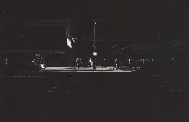 Harry Callahan, 'Chicago', 1958, Phillips