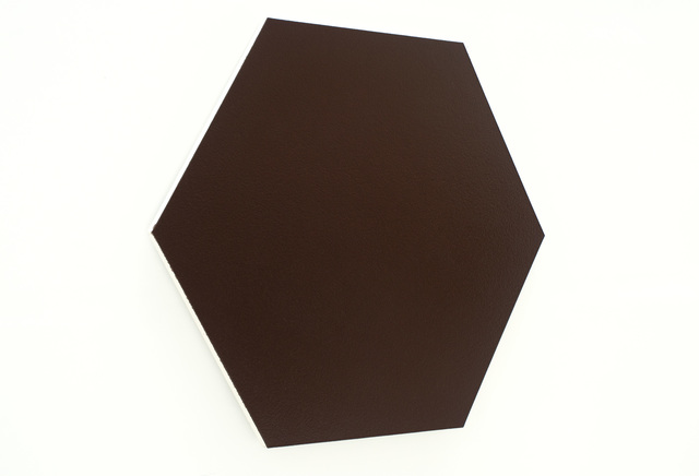 Olivier Mosset, 'Untitled (Bronze Hexagon)', 2010, Spencer Brownstone Gallery