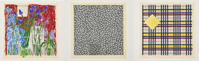 Jennifer Losch Bartlett, 'Homan-Ji Series', 1993, Hiram Butler Gallery