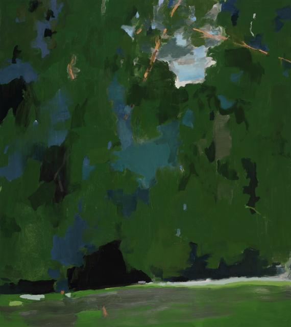 , 'Backyard,' 2018, DC Moore Gallery