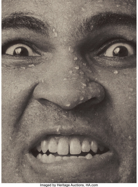 John Stewart, 'Group of Seven Photographs featuring Muhammad Ali', 1977, Heritage Auctions