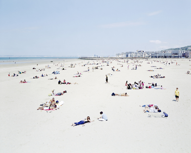 Massimo Vitali, 'Deauville Yellow Boy ', 2011, Benrubi Gallery