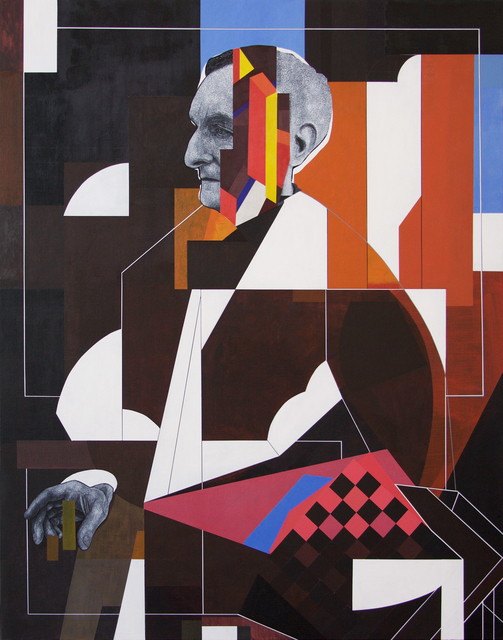 , 'The Chess Player,' 2018, David Lusk Gallery