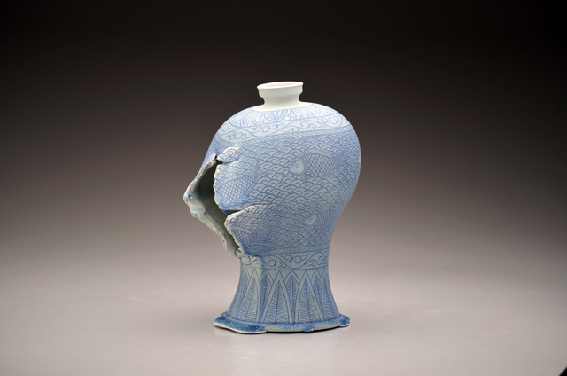 , 'Maebyeong Vase with Fish Decoration,' 2016, Duane Reed Gallery