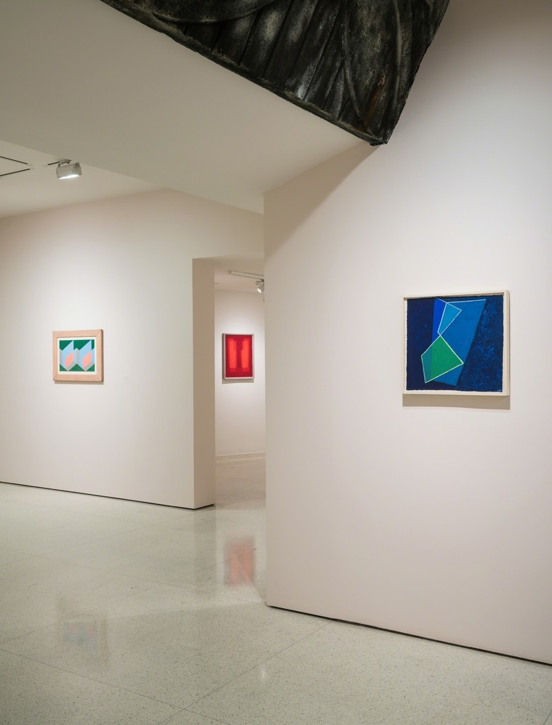 Installation view: Josef Albers in Mexico
