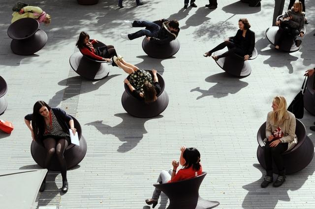 , 'Spun Chair,' 2007-2011, Hammer Museum