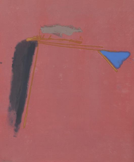 Dan Christensen, 'Professor Bop', 1980, Painting, Acrylic on canvas, Berry Campbell Gallery