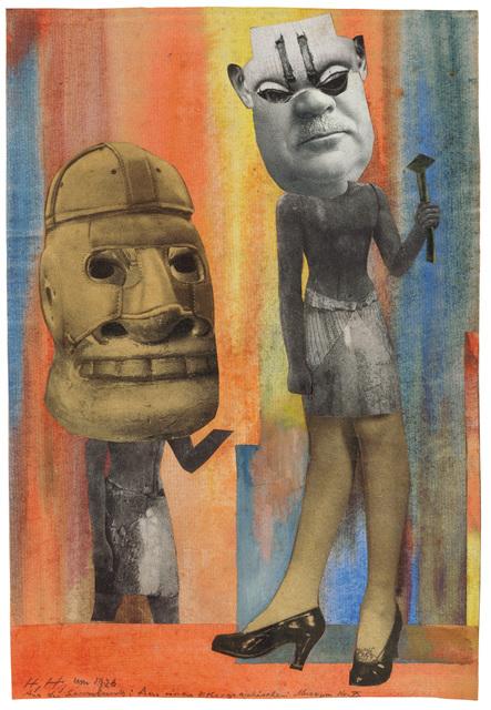 , 'Aus der Sammlung: Aus einem Ethnographischen Museum Nr. IX.,' 1929, Galerie Natalie Seroussi