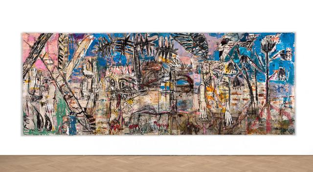 , 'Forest (blue green pink),' 2018, Vigo Gallery