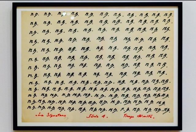 , 'La Signature Serie 1,' 1969, Richard Saltoun