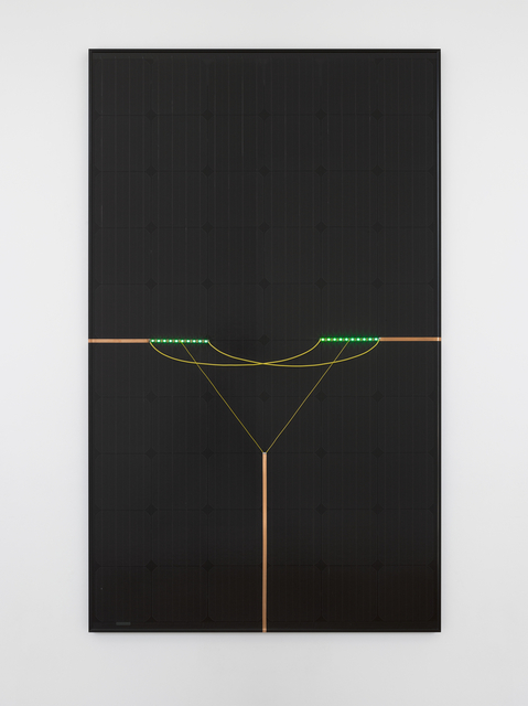, 'Discarnate Entity (Solar Powered LED Circuit Composition 33),,' 2016, Lisson Gallery