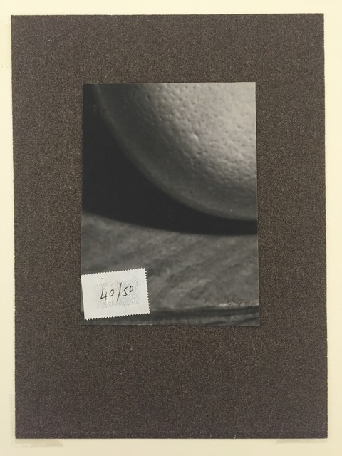 , 'Untitled (Ostrich Egg with stamp and sandpaper), 1941,' 1941, Atlas Gallery
