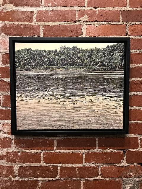 , 'Wabash River,' 2018, Mason-Nordgauer Fine Arts Gallery