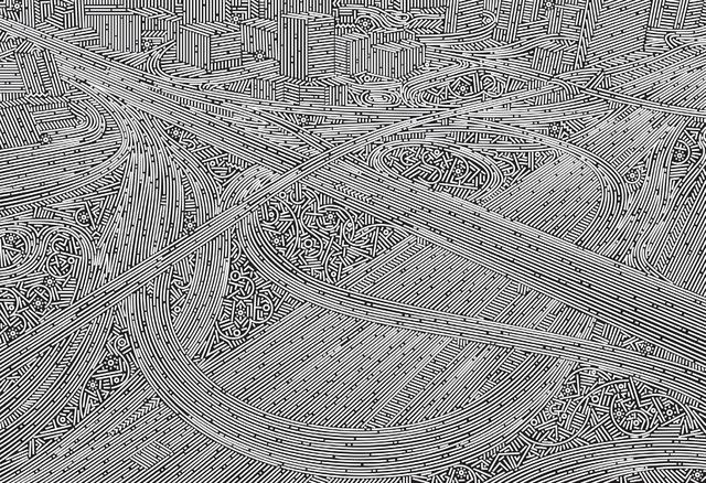 , 'City Stream - Dubai No.1,' 2016, de Sarthe Gallery
