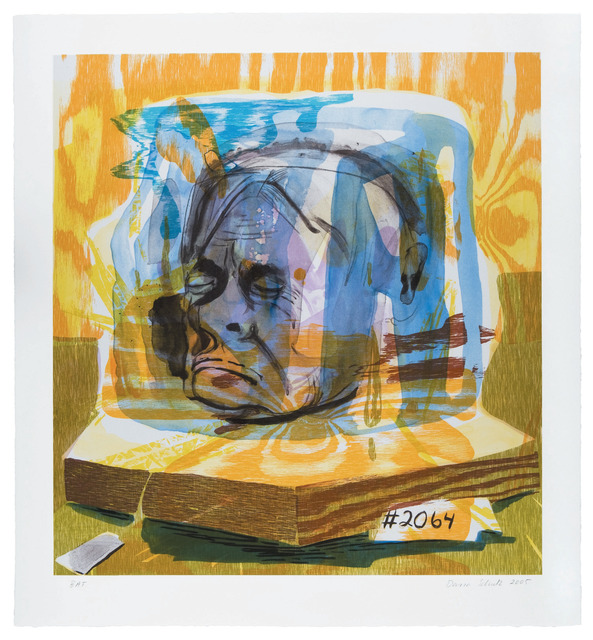 "Dana Schutz, '""Untitled (Head of Timothy Leary)"" for Parkett 75', 2005, Parkett"