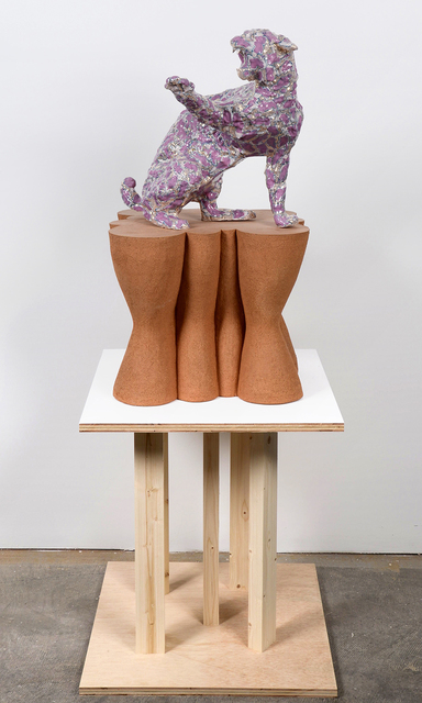 , 'Marble Bobcat,' 2017, Denny Gallery