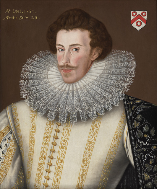 , 'George Goring Jnr. (c.1555 – 1602) of Ovingdean and Danny Park, Hurstpierpoint, Sussex,' 1581, The Weiss Gallery