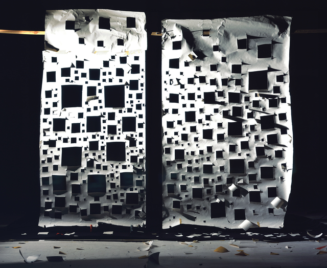 David Haxton, 'Holes in White and Holes in White Lit Side', 2008, Fridman Gallery