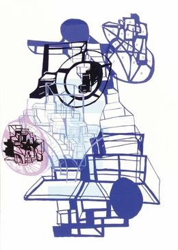 Joanne Greenbaum, 'Untitled Outtakes: #6', 2002, Lower East Side Printshop