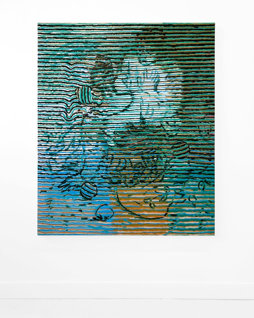 , 'Watteau Variation in Green II,' 2018, pt.2