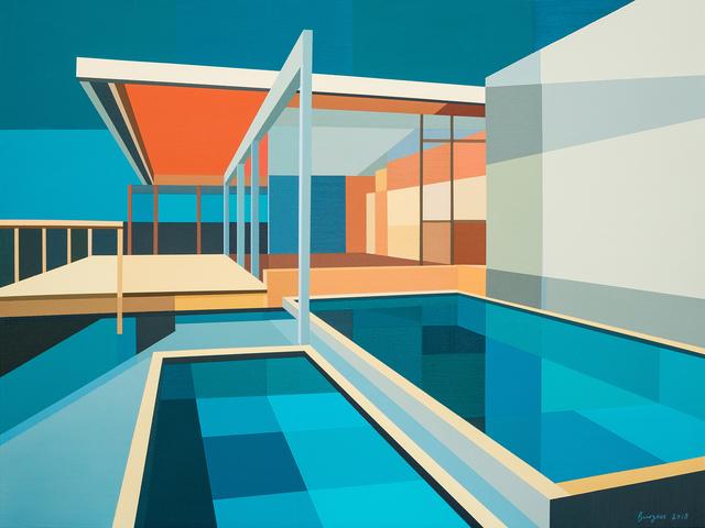 ", '""Re-Imagined Nuetra  II - Chuey House"",' 2018, Bonner David Galleries"