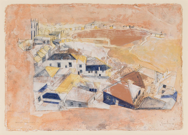 , 'Shining Morning, St Ives,' 2017, Candida Stevens Gallery