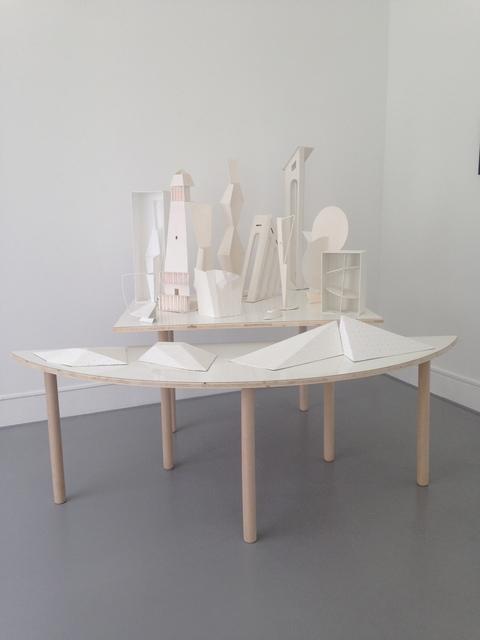, 'New order : Model / Overview,' 2017, Galerie Laurence Bernard