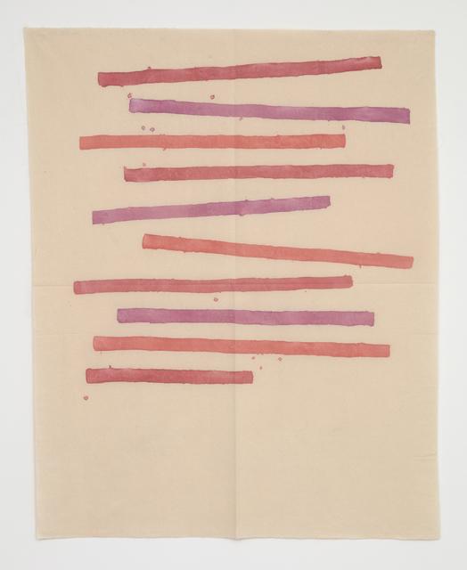 , 'Segni orizzontali,' 1979, Casey Kaplan