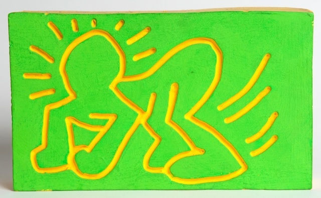Keith Haring, 'Crawling Radiant Baby Wood Carving', 1983, Rhodes