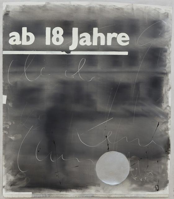, 'Schillerstrasse,' 2017, Galerie Rüdiger Schöttle