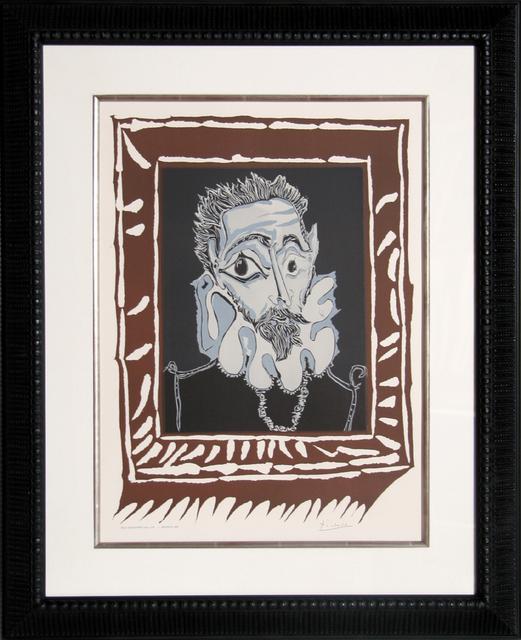 Pablo Picasso, 'Homme a la Fraise', 1963, Print, Lithograph, RoGallery