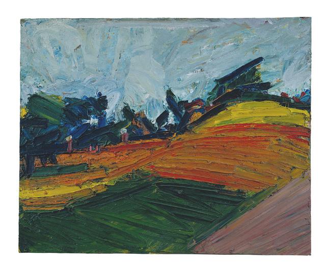 Frank Auerbach, 'Primrose Hill', 1971, Tate Britain