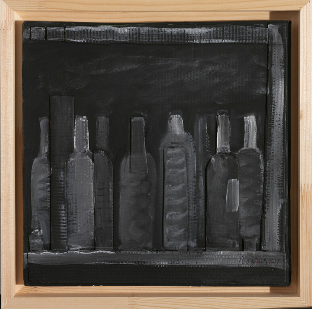 , 'Bottles on the shelf,' 1978, Art4.ru