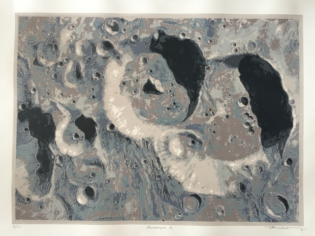 , 'Moonscape II,' 2016, Front Room Gallery