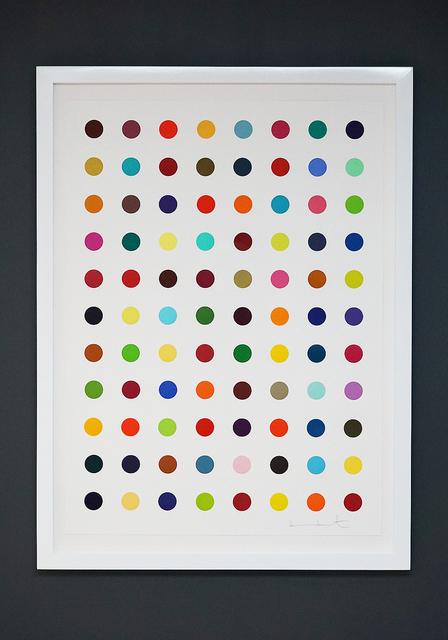"""Damien Hirst, 'Multi-Color """"Spots""""', 2018, Arton Contemporary"""
