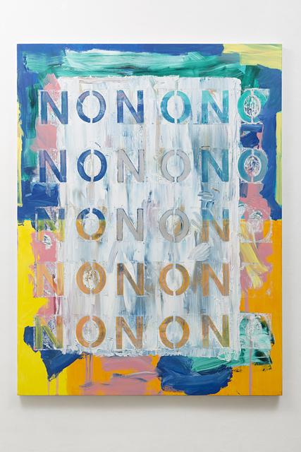 , 'NO (#2),' 2016, Galeria Nara Roesler