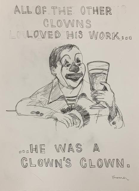 , 'Clown's Clown,' 2018, MULHERIN