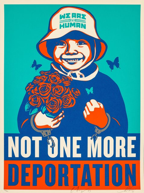 Shepard Fairey, 'Not One More', 2015, Heritage Auctions