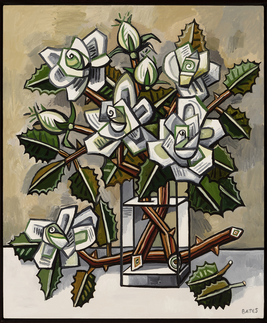 , 'White Roses,' 2017, Talley Dunn Gallery
