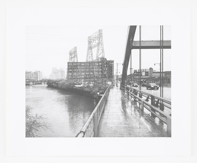 , 'Halsted Street Crossing the North Branch of the Chicago River,' 2016, Ameringer | McEnery | Yohe