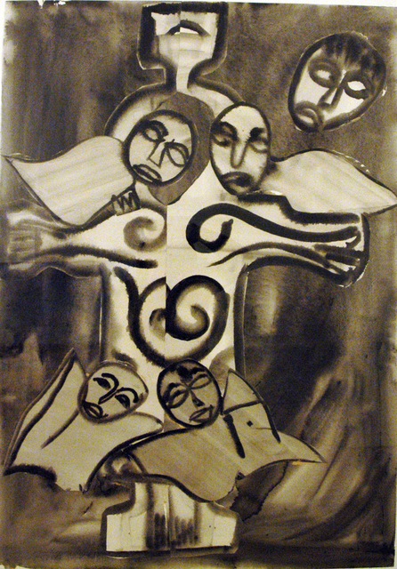 , 'Celtic Saint,' 1982, C. Grimaldis Gallery