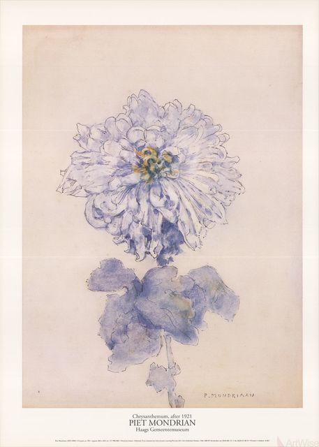 Piet Mondrian, 'Chrysanthemum', 1996, ArtWise
