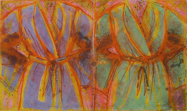 Jim Dine, 'Behind the Thicket', 1993, Cristea Roberts Gallery