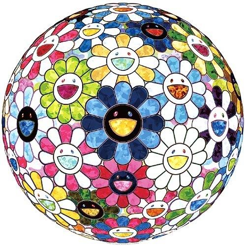 Takashi Murakami, 'The Flowerball's Painterly Challenge', 2016, Print, Offset, Vogtle Contemporary