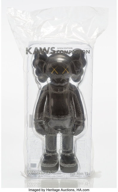 KAWS, 'Companion (Black)', 2016, Heritage Auctions