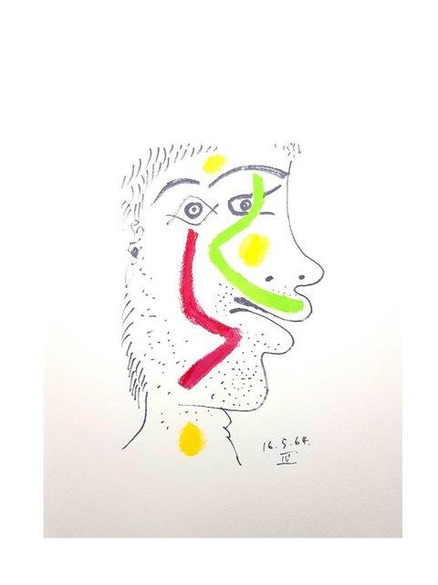 """Pablo Picasso, 'Lithograph """"Le Goût de Bonheur XIV"""" after Pablo Picasso', 1970, Galerie Philia"""