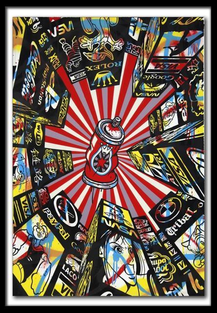 Speedy Graphito, 'Home Street Home ', 2011, Denis Bloch Fine Art