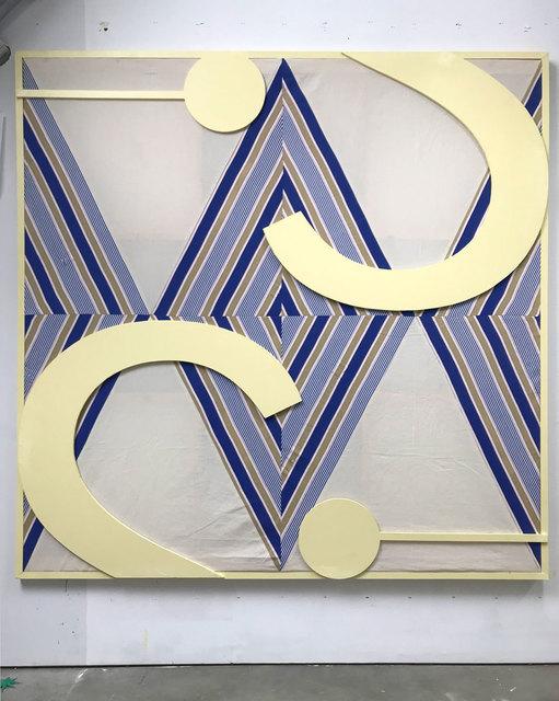 , 'INTERIOR / DÍA (grapa en la fachada),' 2019, F2 Galería