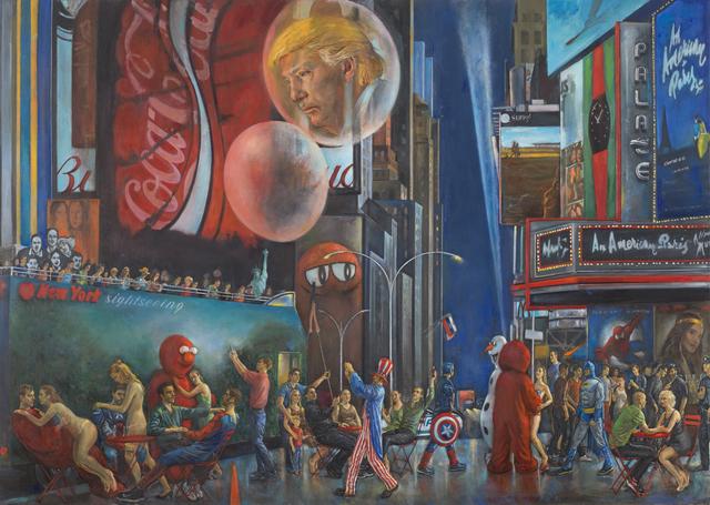 , 'Trumpworld,' 2018, Denise Bibro Fine Art