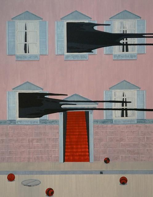 , '4 Red Balls,' 2016, Deborah Colton Gallery